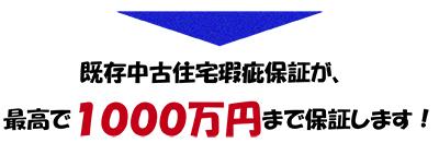 1000万円保証